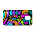 Abstract Sketch Art Squiggly Loops Multicolored Samsung Galaxy S5 Hardshell Case  View1