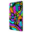 Abstract Sketch Art Squiggly Loops Multicolored Samsung Galaxy Tab Pro 8.4 Hardshell Case View3