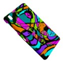 Abstract Sketch Art Squiggly Loops Multicolored Samsung Galaxy Tab Pro 8.4 Hardshell Case View4