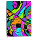 Abstract Sketch Art Squiggly Loops Multicolored iPad Mini 2 Flip Cases View1