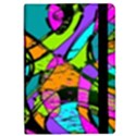 Abstract Sketch Art Squiggly Loops Multicolored iPad Mini 2 Flip Cases View2
