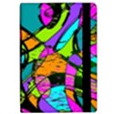 Abstract Sketch Art Squiggly Loops Multicolored iPad Air Flip View2
