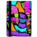 Abstract Sketch Art Squiggly Loops Multicolored iPad Air Flip View4