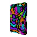 Abstract Sketch Art Squiggly Loops Multicolored Amazon Kindle Fire (2012) Hardshell Case View2