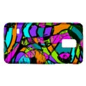 Abstract Sketch Art Squiggly Loops Multicolored Galaxy S5 Mini View1