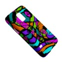 Abstract Sketch Art Squiggly Loops Multicolored Galaxy S5 Mini View5
