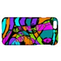 Abstract Sketch Art Squiggly Loops Multicolored Apple iPhone 6 Plus/6S Plus Hardshell Case View1