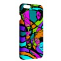 Abstract Sketch Art Squiggly Loops Multicolored Apple iPhone 6 Plus/6S Plus Hardshell Case View3