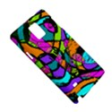 Abstract Sketch Art Squiggly Loops Multicolored Samsung Galaxy Note 4 Hardshell Case View5