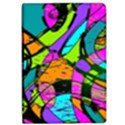 Abstract Sketch Art Squiggly Loops Multicolored iPad Air 2 Flip View1