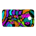 Abstract Sketch Art Squiggly Loops Multicolored Nexus 6 Case (White) View1