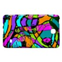 Abstract Sketch Art Squiggly Loops Multicolored Samsung Galaxy Tab 4 (7 ) Hardshell Case  View1
