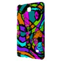 Abstract Sketch Art Squiggly Loops Multicolored Samsung Galaxy Tab 4 (7 ) Hardshell Case  View2