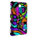 Abstract Sketch Art Squiggly Loops Multicolored Samsung Galaxy Tab 4 (7 ) Hardshell Case  View3