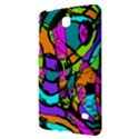 Abstract Sketch Art Squiggly Loops Multicolored Samsung Galaxy Tab 4 (8 ) Hardshell Case  View2