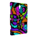 Abstract Sketch Art Squiggly Loops Multicolored Samsung Galaxy Tab S (8.4 ) Hardshell Case  View3