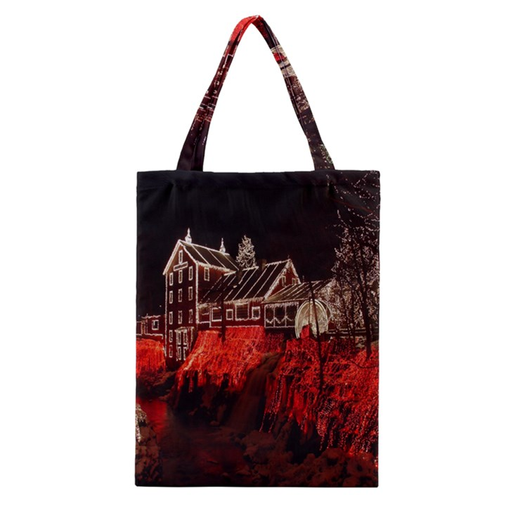 Clifton Mill Christmas Lights Classic Tote Bag