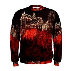 Clifton Mill Christmas Lights Men s Sweatshirt