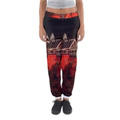 Clifton Mill Christmas Lights Women s Jogger Sweatpants