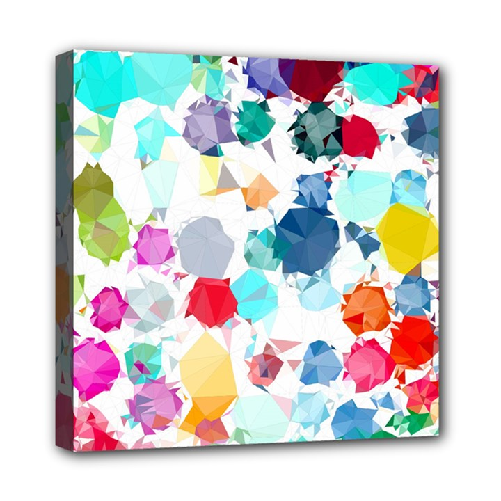 Colorful Diamonds Dream Mini Canvas 8  x 8