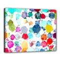 Colorful Diamonds Dream Canvas 20  x 16  View1