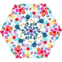 Colorful Diamonds Dream Mini Folding Umbrellas View1