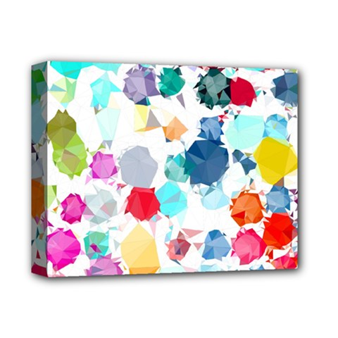 Colorful Diamonds Dream Deluxe Canvas 14  X 11