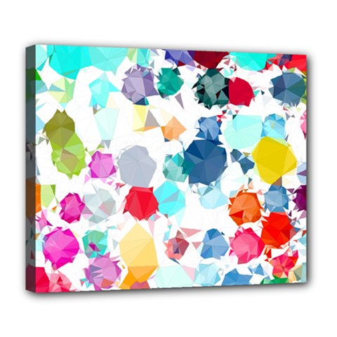 Colorful Diamonds Dream Deluxe Canvas 24  X 20