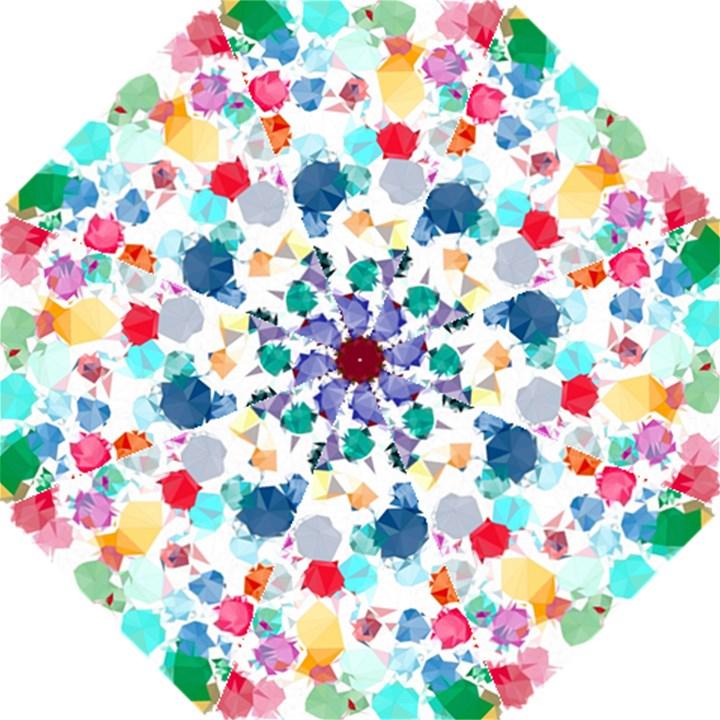 Colorful Diamonds Dream Hook Handle Umbrellas (Small)