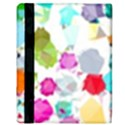 Colorful Diamonds Dream Apple iPad 2 Flip Case View3