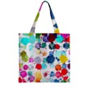 Colorful Diamonds Dream Zipper Grocery Tote Bag View1