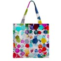Colorful Diamonds Dream Zipper Grocery Tote Bag View2
