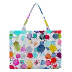Colorful Diamonds Dream Medium Tote Bag