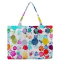 Colorful Diamonds Dream Medium Zipper Tote Bag View1
