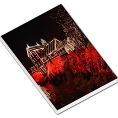 Clifton Mill Christmas Lights Large Memo Pads