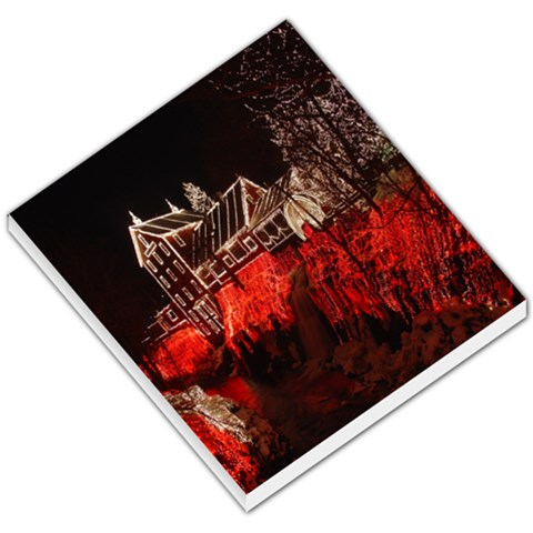 Clifton Mill Christmas Lights Small Memo Pads