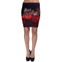 Clifton Mill Christmas Lights Bodycon Skirt