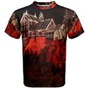 Clifton Mill Christmas Lights Men s Cotton Tee View1