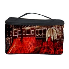 Clifton Mill Christmas Lights Cosmetic Storage Case