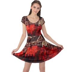 Clifton Mill Christmas Lights Cap Sleeve Dresses