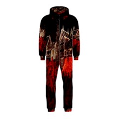 Clifton Mill Christmas Lights Hooded Jumpsuit (Kids)
