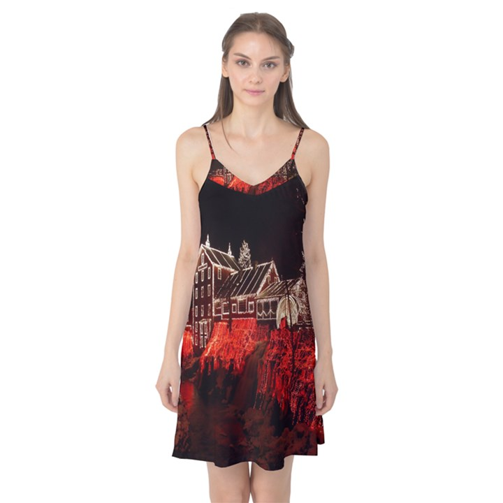 Clifton Mill Christmas Lights Camis Nightgown