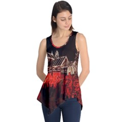 Clifton Mill Christmas Lights Sleeveless Tunic