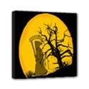 Death Haloween Background Card Mini Canvas 6  x 6  View1
