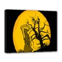 Death Haloween Background Card Canvas 14  x 11  View1