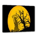 Death Haloween Background Card Canvas 20  x 16  View1