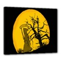 Death Haloween Background Card Canvas 24  x 20  View1