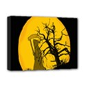 Death Haloween Background Card Deluxe Canvas 16  x 12   View1