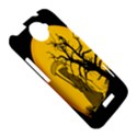 Death Haloween Background Card HTC One X Hardshell Case  View5