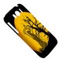 Death Haloween Background Card HTC Sensation XL Hardshell Case View5